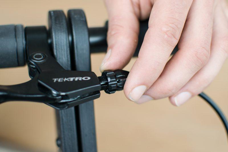 Brake Adjustment Halfbike The Compact And Light Standing Bike