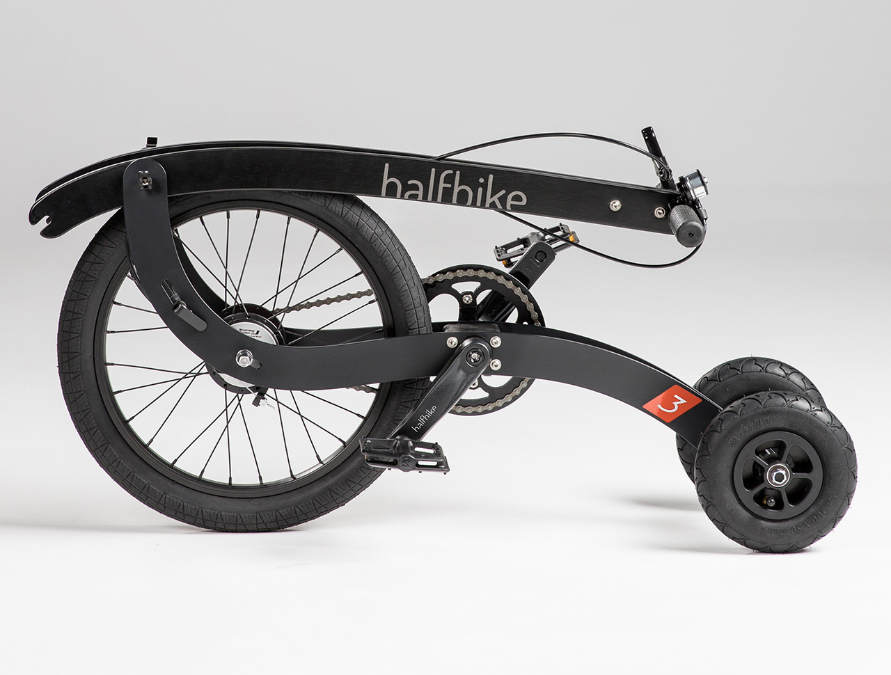 Halfbike foldable bike